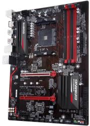 Gigabyte AM4 AMD X370 ATX Motherboard w/ Case $100