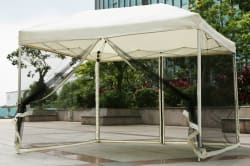 iKayaa 10x10-Foot Outdoor Folding Canopy Tent $84