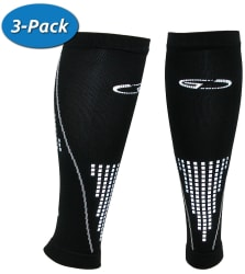 Men's Compression Calf Sleeve 3-Pack for $16