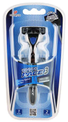Dorco Men's Pace 3 Razor w/ 2 Cartridges for $2