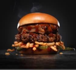 Hardee's Baby Back Rib Burger: Buy 1, get 2nd free