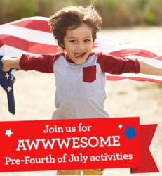 Upcoming: Pre-Fourth of July Event for free