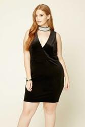 Forever 21 Women's Velvet Shift Dress for $21