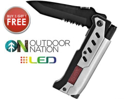 Two 3-in-1 Survival Knives for $15