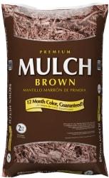 Premium 2-Ct. Ft. Hardwood Mulch for $2