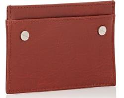 Balenciaga Arena Leather Card Case $63