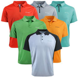 Columbia Men's Polo Assorted 2-Pack for $30