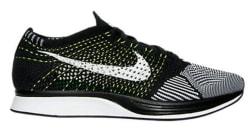 Nike Unisex Flyknit Racer Running Shoes for $100