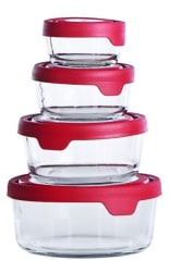 Anchor Hocking TrueSeal 8pc Glass Storage Set $14