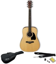 Ibanez Jampack Acoustic Guitar Kit for $140