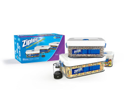 Ziploc 3-Piece Vacuum Seal Canister Set for $18