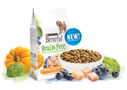 Purina Beneful Grain Free Dog Food Sample for free