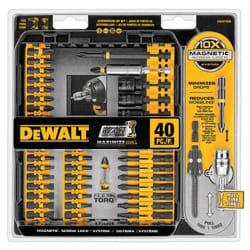 DeWalt 40-Piece FlexTorq Bit Set for $15