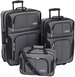 Leisure Trio 3pc Luggage Set w/ $10 Kohl's GC $51