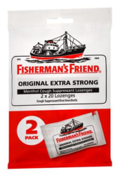 Fisherman's Friend Lozenges 20-Count 2-Pack for $2