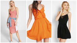 Express Women's Dresses: Up to 50% off + 20% off