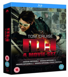 Mission: Impossible Quadrilogy on Blu-ray for $6