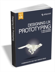 """Designing UX: Prototyping"" eBook for free"