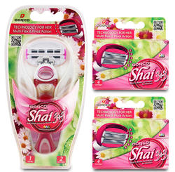 Dorco Shai Soft Touch Razor w/ 10 Cartridges $10