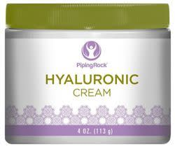 Piping Rock Hyaluronic Cream 4-oz. Jar for $5