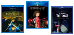 Studio Ghibli on Blu-ray at Best Buy from $13