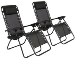 2 Zero Gravity Recliner Outdoor Chairs for $50