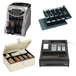 Cash Handling Items at Quill: $20 off $80