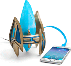 Starcraft Protoss Pylon USB Charger for $20