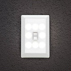 2 Wireless 8-LED Light-Switch Night Lights for $7