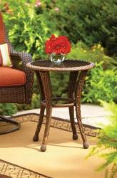 "Better Homes 20"" Round Outdoor Side Table for $45 + free shipping"