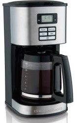 Hamilton Beach 12-Cup Coffeemaker for $19