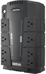 CyberPower 8-Outlet 625VA UPS Battery Backup