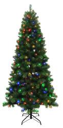 Holiday Living 7.5ft Pre-Lit Christmas Tree $69