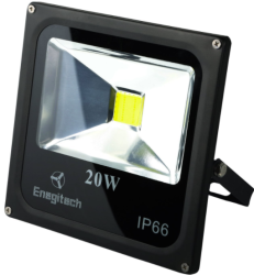 Enegitech 20W LED Outdoor Flood Light for $14 + free shipping w/ Prime