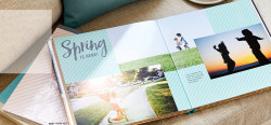 20-Page 8x8 Hard Cover Photo Book for free