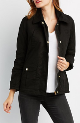 Charlotte Russe Women's Drawstring Anorak for $26