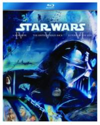 Star Wars: Original Trilogy on Blu-ray for $21