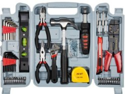 Stalwart 130-Piece Hand Tool Set for $27