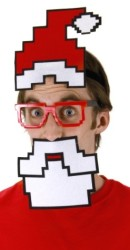 8-Bit Pixel Santa Kit for $2