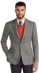Jos A. Bank Men's Big & Tall Weave Sportcoat $74
