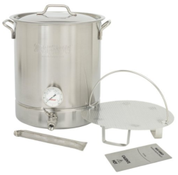 Bayou Classic 16gal Stainless 6pc Brew Kettle