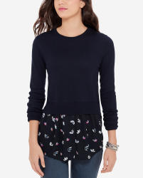 The Limited Women's Mixed Media Sweater $35