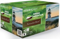 144 Green Mountain K-Cups, $15 Kohl's Cash for $50
