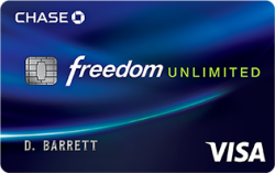 Chase Freedom Unlimited(SM) Card Earn a $150 bonus