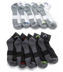 Head Men's Moisture-Wicking Socks 20-Pack for $20