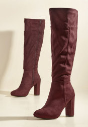 ModCloth Women's Originality in Effect Boots $26