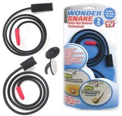Wonder Snake Drain Hair Remover 2-Pack for free