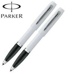 2 Parker Reflex Comfort Grip Rollerball Pens