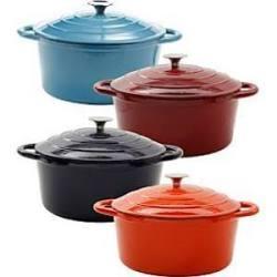 Ruff Hewn 5-Quart Cast Iron Casserole Pan for $26