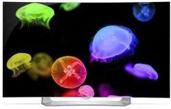 "LG 55"" 1080p Curved 3D OLED Smart TV"